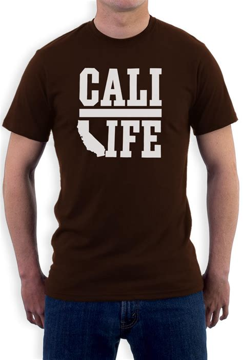 Tshirt Cali cali t shirt california la united states republic