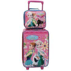 Tas Koper Set Dengan Lunch Bag Frozen Fever Sateen Best Seller jual set koper termurah bekualitas lazada co id