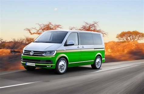 Auto Tuning 1100 by Volkswagen T6 Tuned Into Diesel Hybrid With 1100 Nm By Mtm