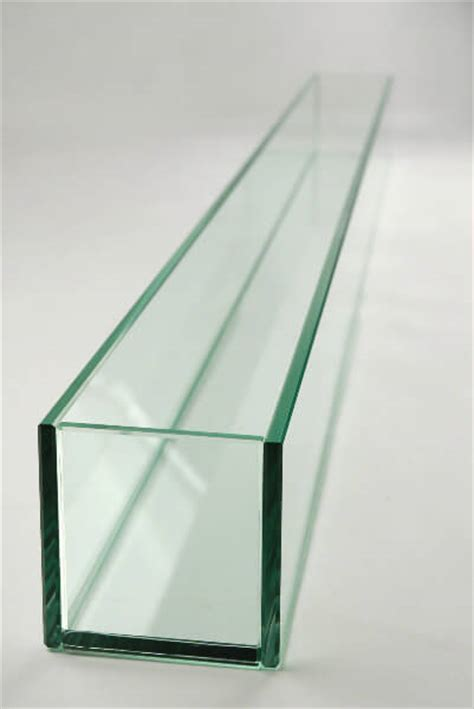Large Glass Planter by Large 47in Thick Glass Display Candleholder Planter