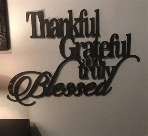 Metal Signs For Home Decor by Thankful Grateful Blessed Metal Sign Home Decor