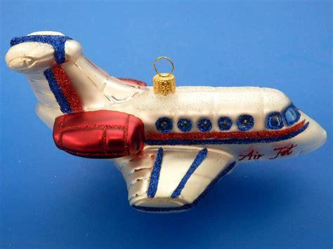 airplane private jet air plane european blown glass