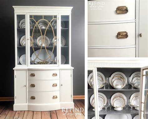 antique white china cabinet antique white china cabinet upcycle general finishes