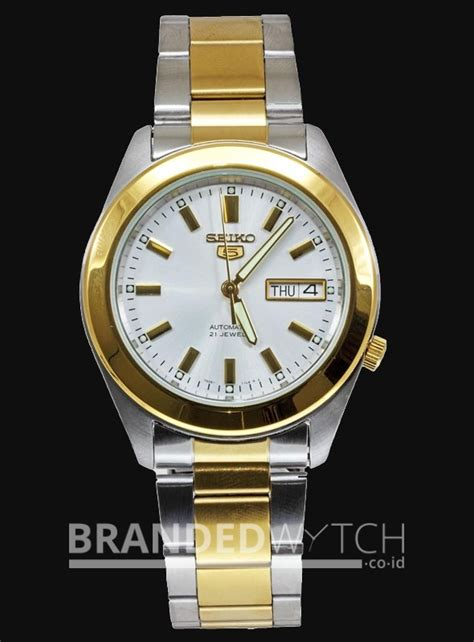 Jam Tangan Fossil Es Series Silver Silver Gold seiko 5 snkm70k1 silver gold brandedwatch co id