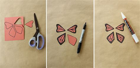 How To Make A Paper Butterfly That Flies - how to make wind up paper butterflies handmade