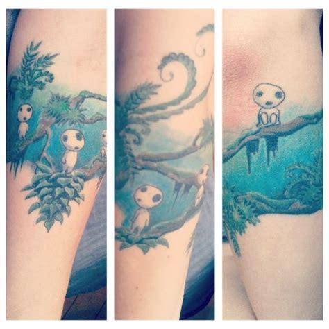 kodama tattoo princess mononoke kodama www imgkid the