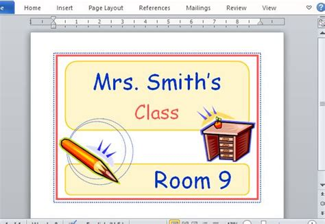classroom door signs templates printable classroom sign maker templates for word