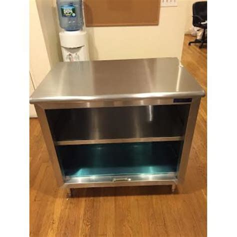open front storage cabinets universal st 330 36 o 30 quot x 36 quot stainless steel storage