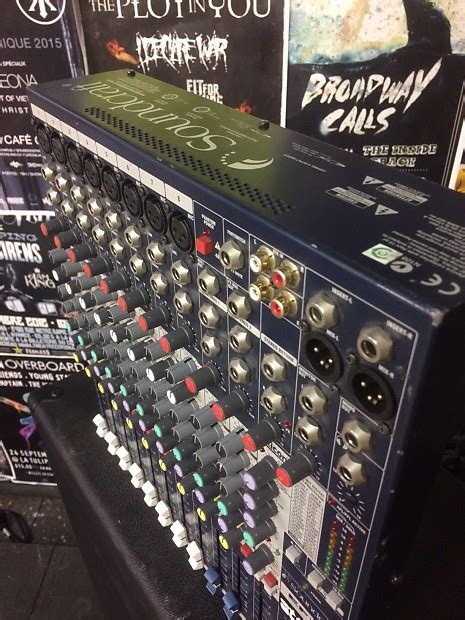 Mixer Soundcraft Efx8 Soundcraft Efx8 8 Channel Mixer With Lexicon Effects Reverb