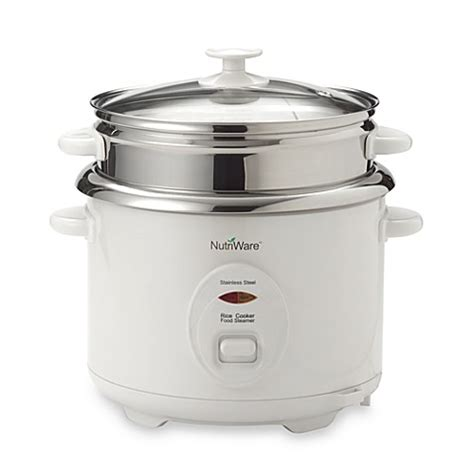 Rice Cooker Stenlis aroma nutriware stainless steel 8 cup rice cooker bed bath beyond