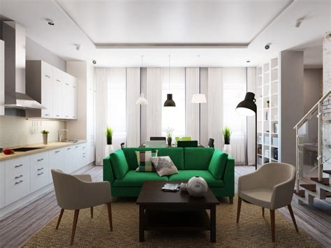 green interior design green sofa interior design ideas