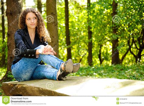 bench girl girl on a bench royalty free stock images image 21334819