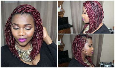7 Hairstyles That Will Turn Heads by How To Diy Bob Box Braid Dantemmy Peinados