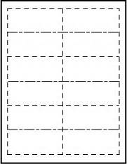Blank Place Card Template Printable Place Cards For Inkjet Or Laser Printers