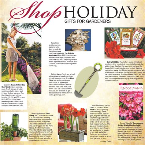 shop holiday gift ideas for gardeners pittsburgh post