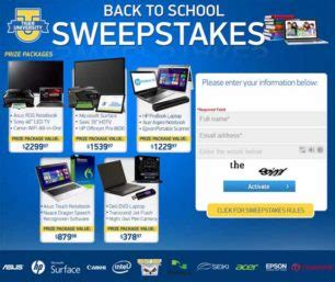 Tigerdirect Sweepstakes - sweepstakes sweepstakes directory part 21