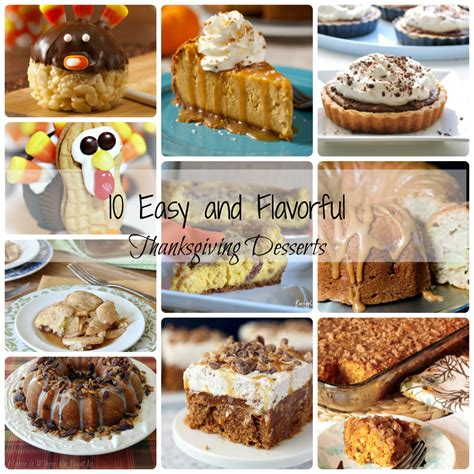 10 easy thanksgiving desserts dimple prints