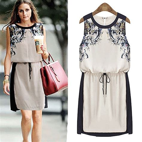 High End Summer by High End Plus Size Sundresses Summer New Print Top Dress