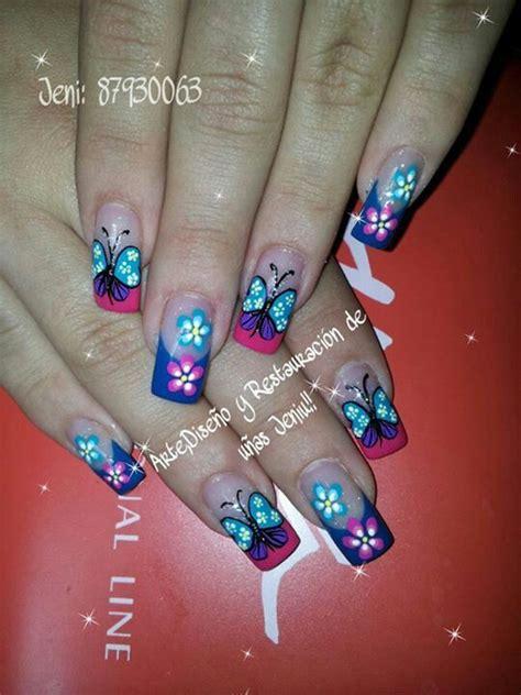 imagenes uñas decoradas con mariposas pin by adriana rivillas on u 241 as pinterest