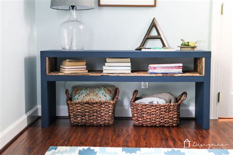 ikea lack sofa table remodelaholic friday favorites scalloped centerpiece