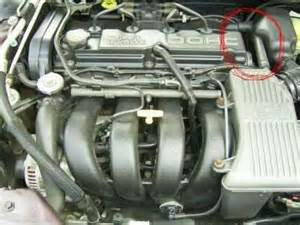 solved diagram on a 1997 dodge stratus 2 4l dohc engine
