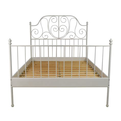 ikea bed headboard 74 off ikea ikea leirvik full size bed frame beds