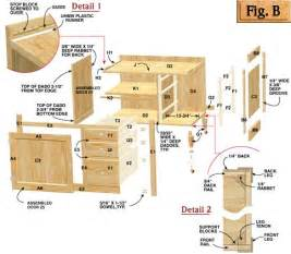 Free Kitchen Cabinet Plans Diy Free Plans For Building Kitchen Cabinets Plans Free