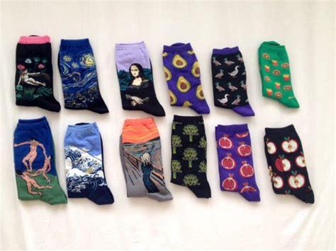 Detox Socks by Socks Graphic Painting Fall