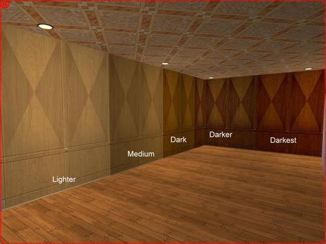 wood paneled walls mod the sims 5 recolours of maxis wood paneling