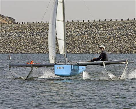 hobie hydrofoil boat bensozia hydrofoil sailing