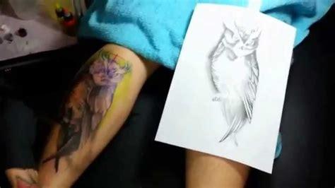 tattoo removal kl owl tattoo yanglee tattoo malaysia 扬艺刺青 youtube