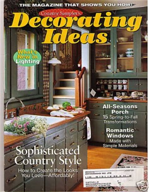 country home magazines lot of 4 primitives country cottage chic decorating ebay romantic country magazine fall 2015 country decorating