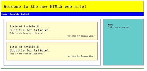 html5 section id html5设计自适应网页 flexible page joanna qian 博客园