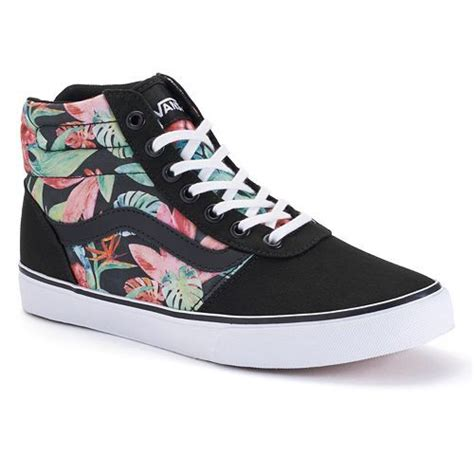 vans patterned high tops high top vans the new for your wardrobe carey fashion