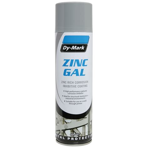spray paint zinc dy 400g zinc gal bunnings warehouse