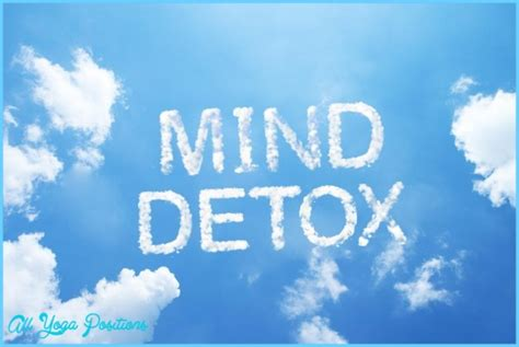 Mind Detox by Mind Detox All Allyogapositions