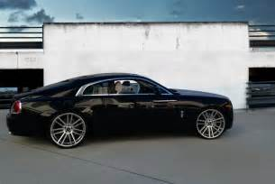 Rolls Royce Wraith On Rims Koko Kuture 174 Massa 7 Wheels Silver With Machined Rims
