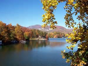 Cabin Lake Carolina by Lake Lure Carolina Places