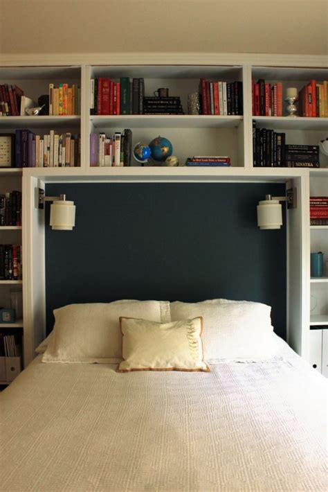 library bedroooms beautiful re do of built in shelves in a guest room www