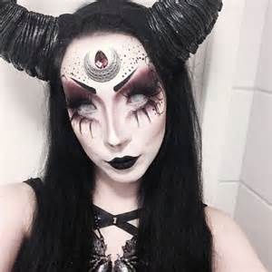 Unicorn Halloween Costume Tweens 25 Evil Scary Halloween Face Paint Ideas Women
