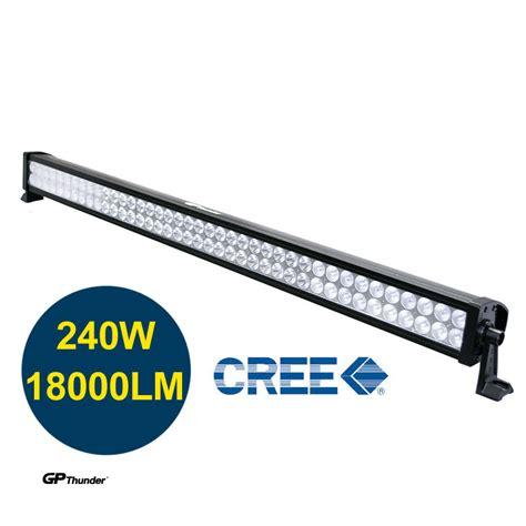 42 inch 6000k road 240w cree led fog l work light