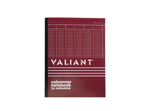 Desk Computer Stand Valiant Columnar Book 14 Column 50 Leaves 216x280 Office