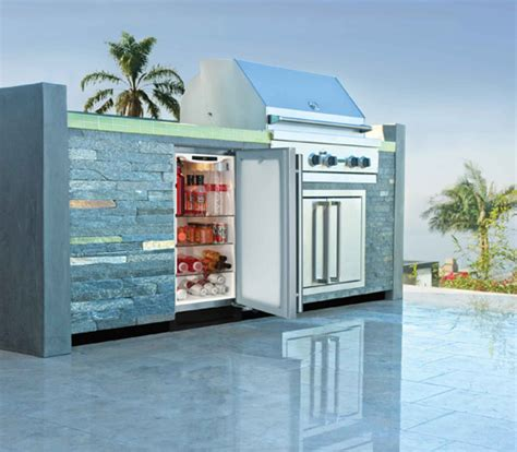 Patio Fridge by Make Your Patio Comfortable With These Essentials The