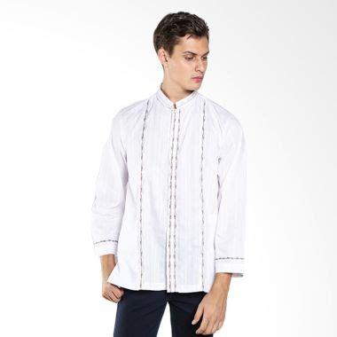 Arafah Pakistan Riyadh Broken White jual busana baju muslim pria baju koko harga murah blibli