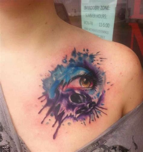 watercolor tattoo eye watercolor abstract watercolor skull eye