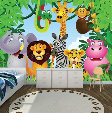 Kinderzimmer Safari Gestalten by Dschungel Kindertapete Kinderzimmer Gestalten