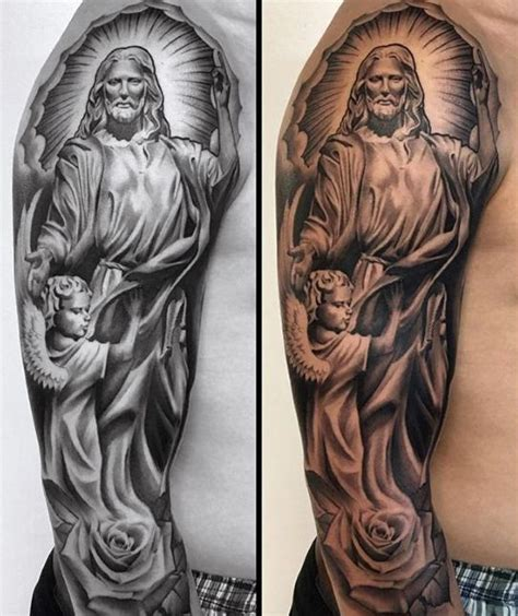 catholic tattoo ideas 60 catholic tattoos for religious design ideas new