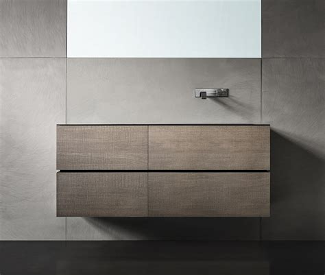 wall mounted vanity unit with drawers dresscode by moab 80