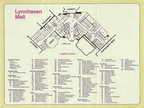 layout of lynnhaven mall the mallmanac malls of my youth lynnhaven mall