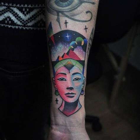 nefertiti tattoos 15 must see nefertiti pins